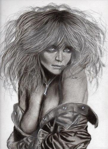 Helena Christensen by Line-Art